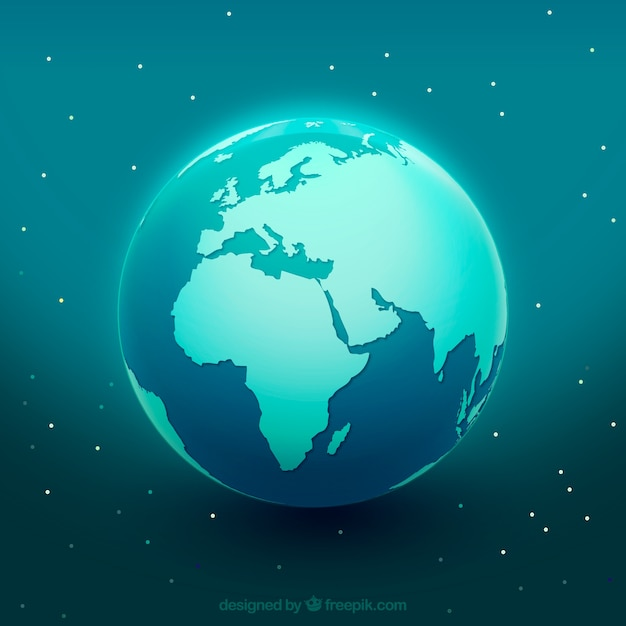 globe terrestre bleu t l charger des vecteurs gratuitement. Black Bedroom Furniture Sets. Home Design Ideas