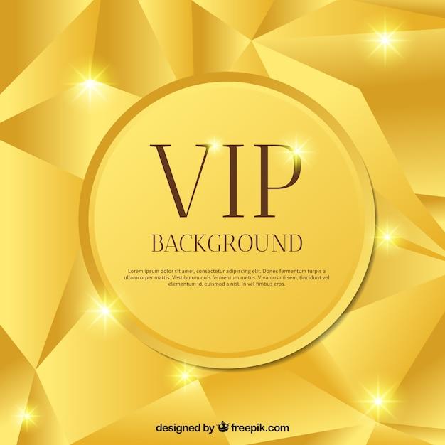 Golden brillant abstract vip background Vecteur gratuit