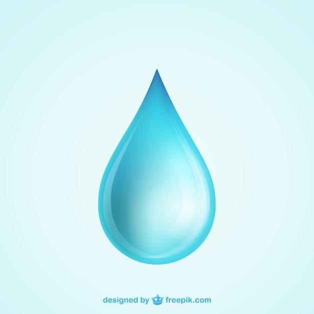 Goutte d'eau Vecteur gratuit
