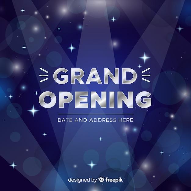 Grande ouverture Vecteur gratuit