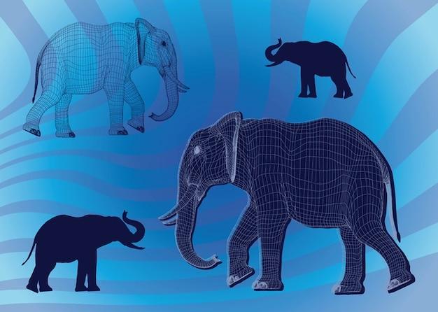 Elephant vectoriel vecteurs et photos gratuites - Photos d elephants gratuites ...