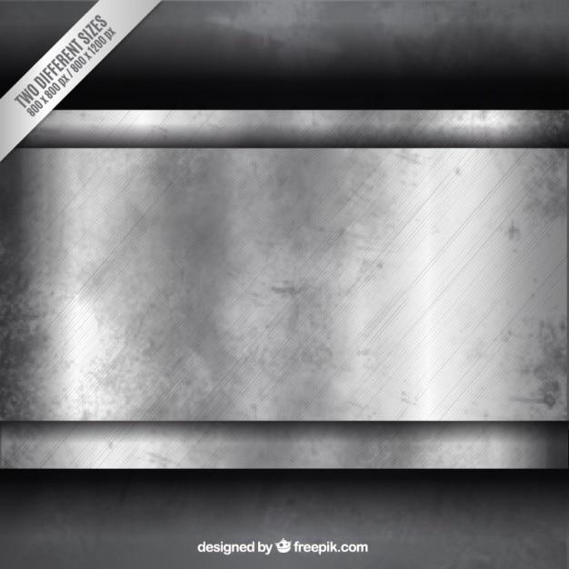 Grunge fond métallique Vecteur gratuit