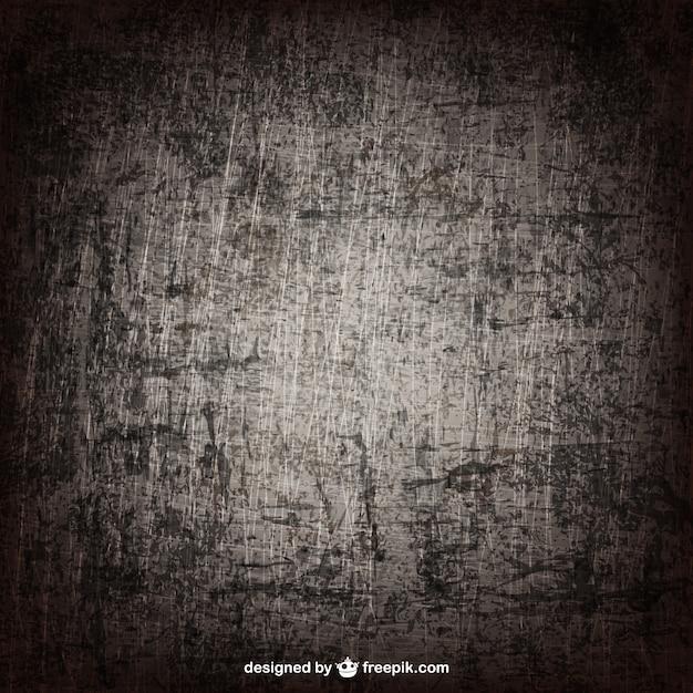 Grunge texture dans ton sombre Vecteur Premium