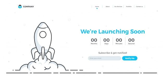 Hero banner image pour les sites web, ou les applications. Vecteur Premium