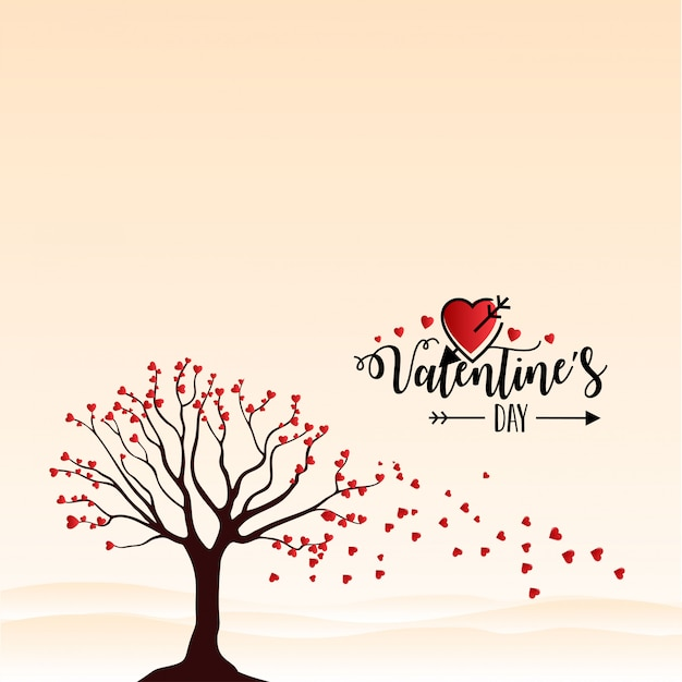 Heureuse saint valentin vector Vecteur Premium