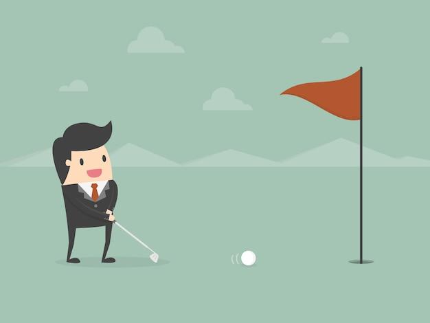 Homme d 39 affaires jouer au golf t l charger des - Jouer au coups de midi gratuitement ...