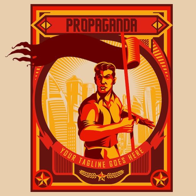 https://image.freepik.com/vecteurs-libre/homme-tenant-conception-affiche-propagande-drapeau-blanc_3890-402.jpg