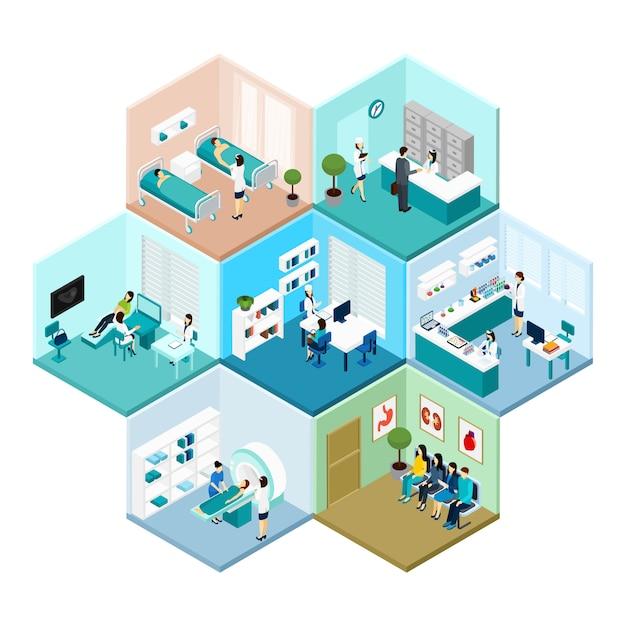 Hôpital Vecteur gratuit