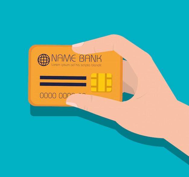 carte de crédit logo icône