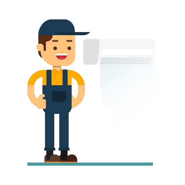 Icône d'avatar de personnage homme Vecteur Premium