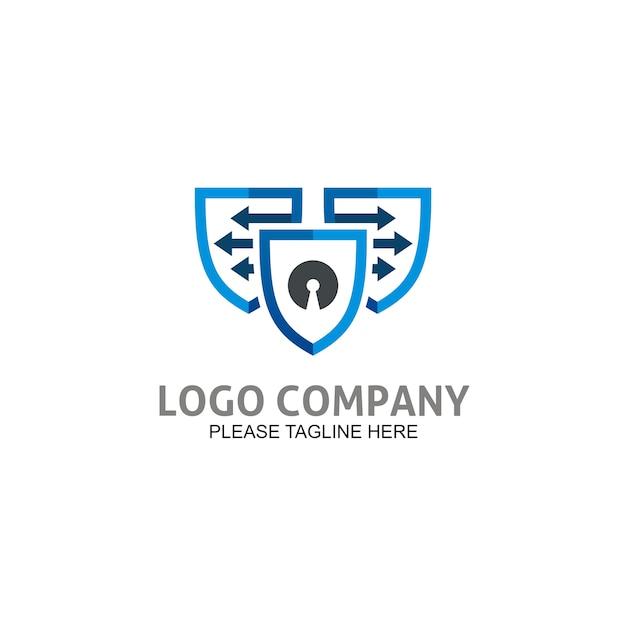 Icône bouclier sécurisé Vecteur Premium