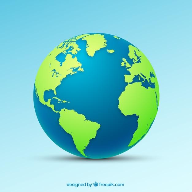 Icône de globe Vecteur gratuit