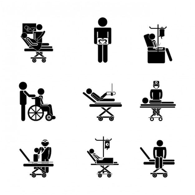 Icône médical Vecteur Premium