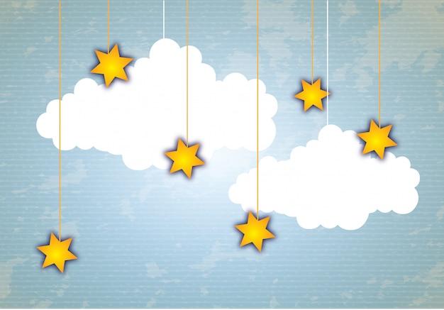 Icône de nuage Vecteur Premium