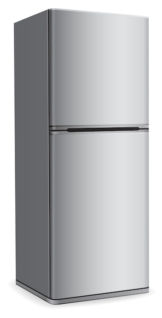 Icône De Réfrigérateur Moderne Vecteur Premium