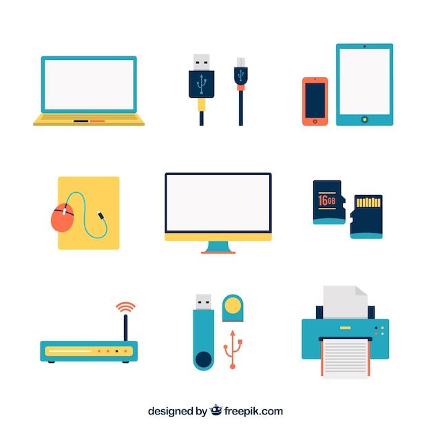 Icônes Colorées De Mammite Vecteur Premium