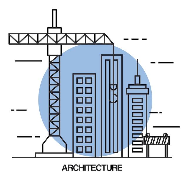 Icônes De Jeu De Conception Architecturale Télécharger Des