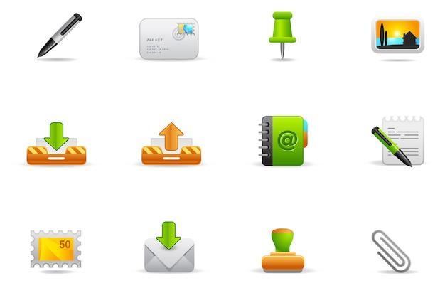 Icônes De Philos - Set 1   Site Web Et Internet Vecteur Premium