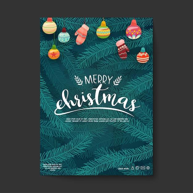 Icônes Vectorielles De Noël Illustration De Décoration De Nouvel An Des Chrétiens De Noël Vecteur gratuit