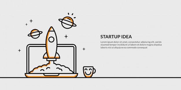 Idée d'apprentissage avec bannière lumineuse, retour au concept d'école Vecteur Premium
