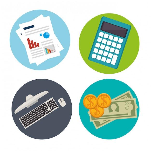 Idées D'affaires Et Entreprises En Démarrage Vecteur gratuit