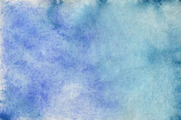 Il S'agit D'une Texture De Fond De Pinceau D'ombrage Aquarelle Abstraite Vecteur Premium