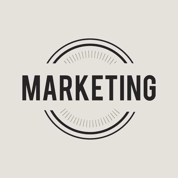 Illustration de la bannière de marketing Vecteur gratuit
