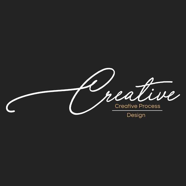 Illustration de bannière de timbre de concepteur créatif Vecteur gratuit