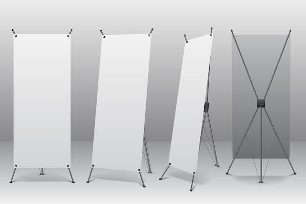 Illustration De Bannières De Stand X Vecteur gratuit