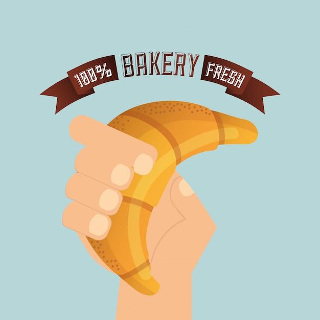 Illustration de boulangerie Vecteur gratuit