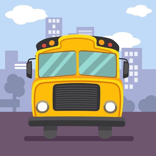 Illustration d'un bus rouge à impériale avec la forme du symbole d'une ville. j'ai hâte de prendre l'autobus à impériale à londres Vecteur Premium