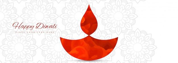 Illustration ou carte de voeux du festival de diwali Vecteur gratuit