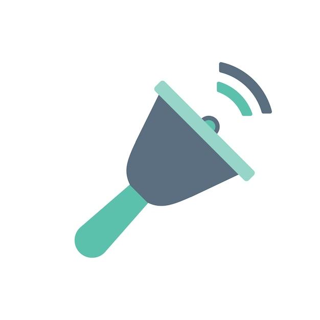 Illustration de la cloche d'appel Vecteur gratuit