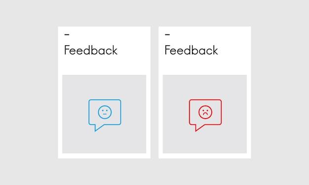 Illustration des commentaires des clients Vecteur gratuit