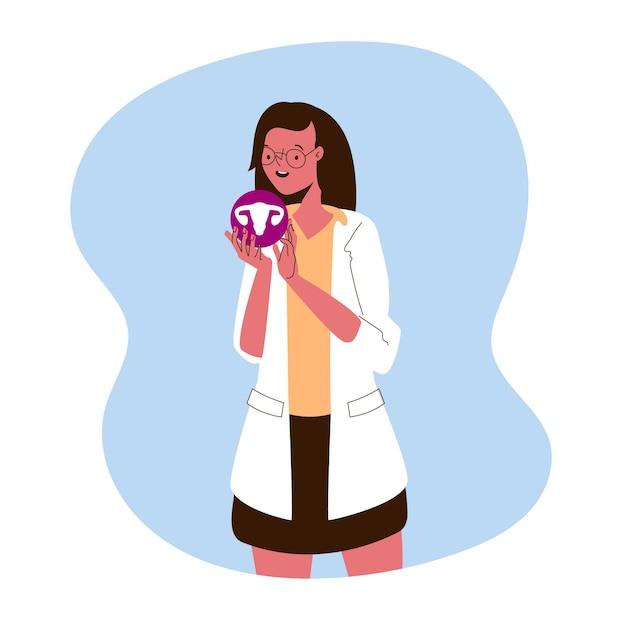 Illustration De Concept De Gynécologie Vecteur gratuit