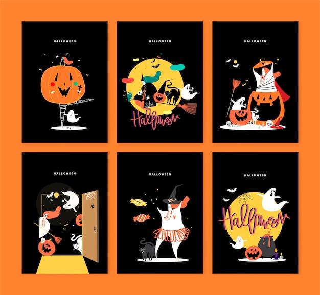 Illustration de concept mignon jour halloween Vecteur gratuit