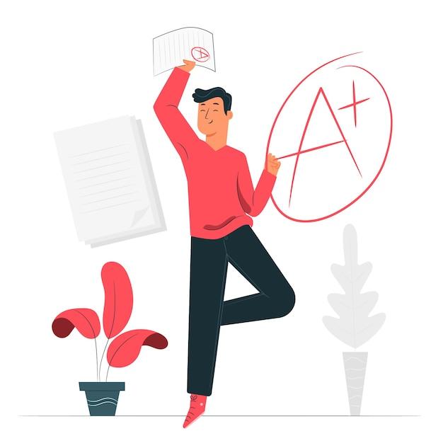 Illustration De Concept De Notes Vecteur gratuit