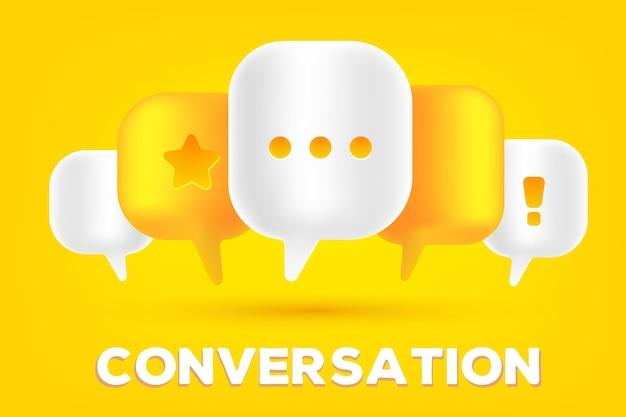 Illustration De Concept De Technologie De Communication Mobile Vecteur Premium