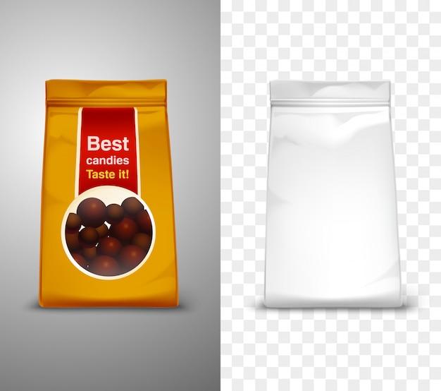 Illustration de conception d'emballage Vecteur gratuit