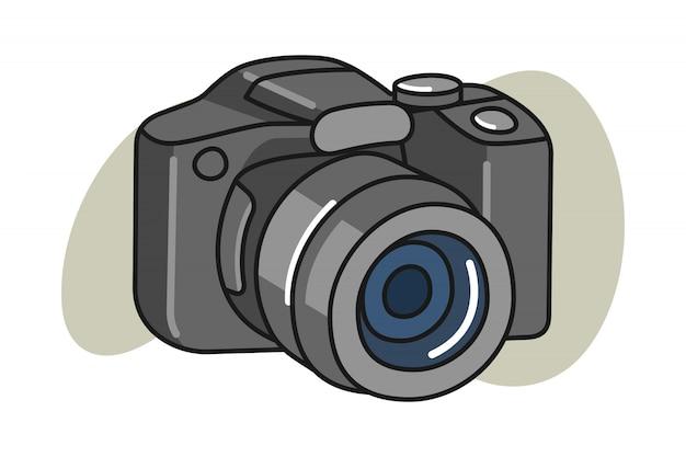 Illustration De Dessin Anime De Camera Vecteur Premium
