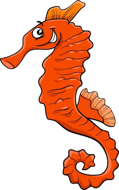 Illustration De Dessin Animé Hippocampe Télécharger Des Vecteurs