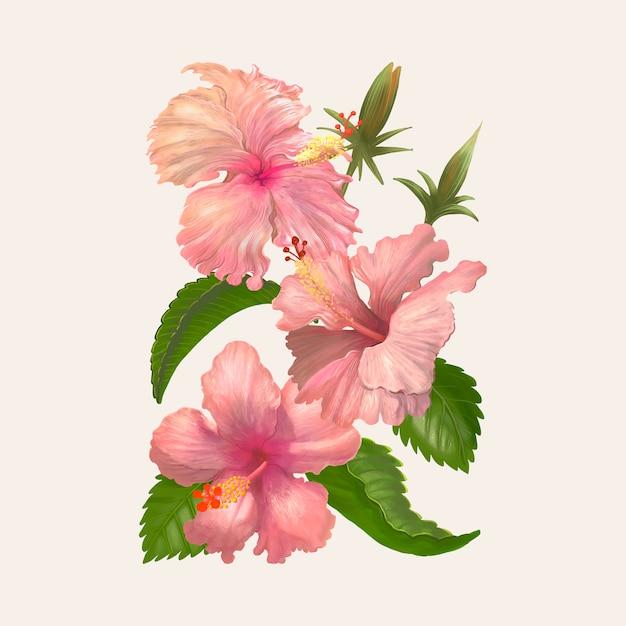 Illustration Dessin De Fleur Aquarelle Telecharger Des Vecteurs