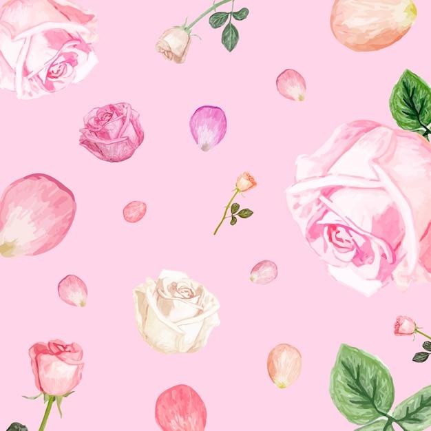 Illustration De Dessin Fleur De Rose Blanche Telecharger Des