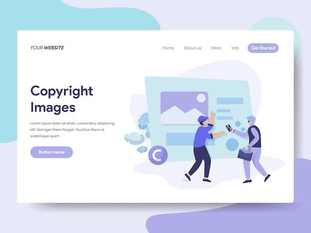 Illustration des droits d'auteur Vecteur Premium