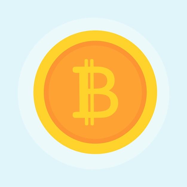 Illustration du concept de bitcoin Vecteur gratuit