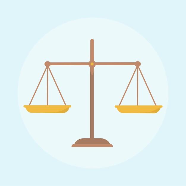Illustration Du Concept De Loi Vecteur gratuit
