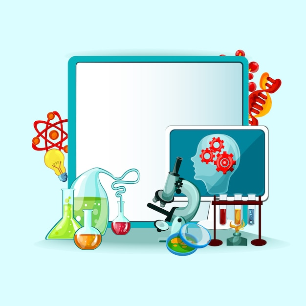 Illustration du concept scientifique Vecteur gratuit
