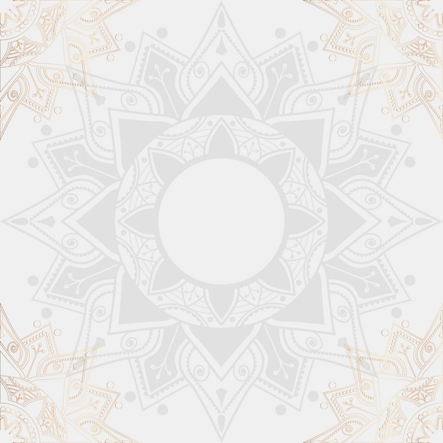 Illustration du mandala Vecteur gratuit