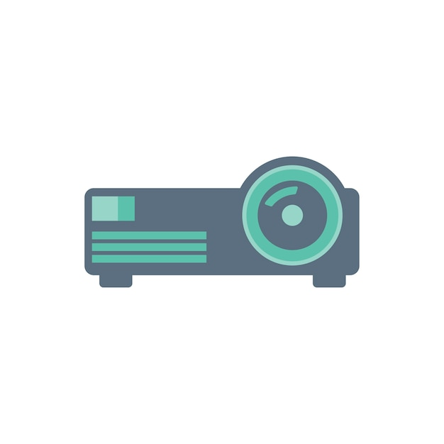 Illustration Du Projecteur Vecteur gratuit