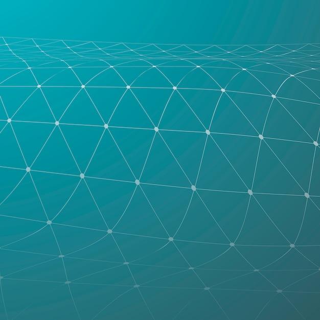Illustration du réseau de neurones Vecteur gratuit